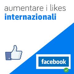 01 aumento likes internazionali