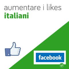 01 aumento likes italiani