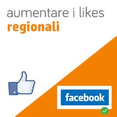 01 aumento likes regionali